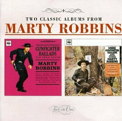 Marty Robbins - Gunfighter Ballads And Trail... (NEW CD)