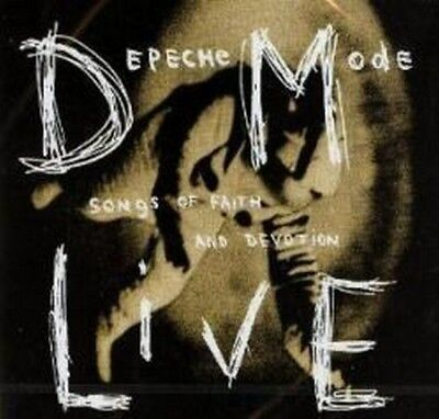 Depeche Mode - Songs Of Faith And Devotion (Live) (NEW CD)