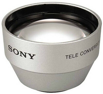 SONY VCL-2025S 2.0x Tele Conversion Lens for 25mm lens Camcorders