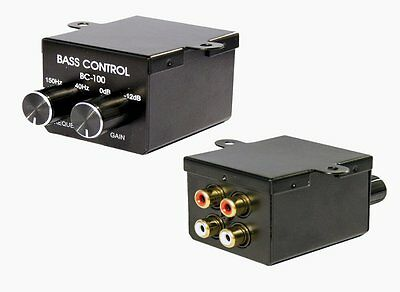 Subwoofer Weiche Bassregler (Level & Frequenz) Bass Regler