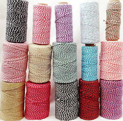 New Bakers Twine Crafts Wedding Christmas Gift Wrapping - 10 Metres