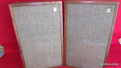 Knight KN 3030K Stereo Speakers Allied Radio Corp. KN 3 WAY 8 OHMS VINTAGE COOL