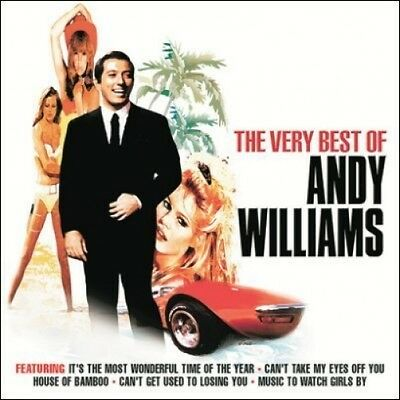Andy Williams ( New Sealed Cd ) Very Best Of / Greatest Hits Collection