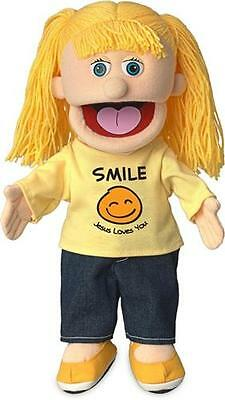 """14"""" Pro Puppets/Full Body Hand Puppet Smile Jesus Loves You"""