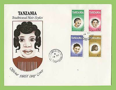 Tanzania 1987 Traditional Hair Styles set First Day Cover