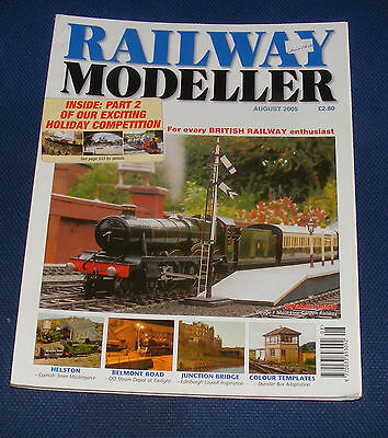 Railway Modeller Volume 56 Number 658 August 2005 - Overhill Road