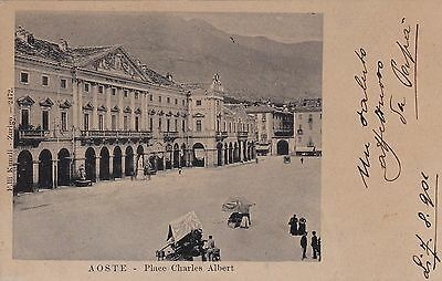 # Aoste: Place Charles Albert