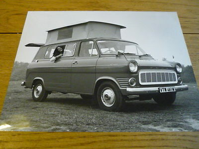 FORD TRANSIT CANTERBURY SAVANNAH III ORIGINAL PRESS PHOTO Brochure  jm