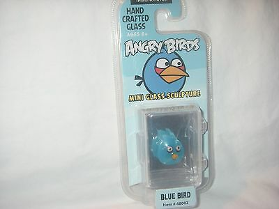 Angry Birds Limited Edition Mini Glass Sculpture Blue Bird New In Package