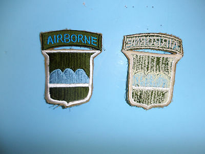 b1880 US Army 1950's  80th Division Airborne