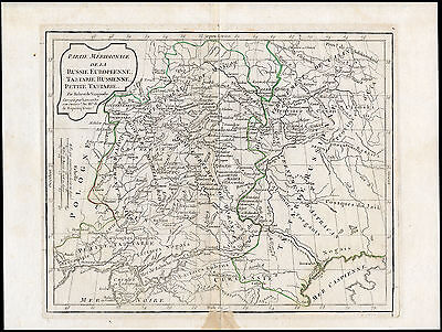 Antique Print-MAP-RUSSIA-MOSCOW-WOLGA-ASTRAKHAN-Delamarche & Vaugondy-1795