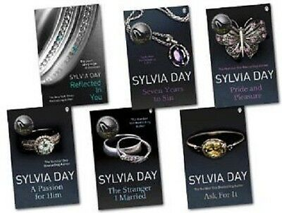 Sylvia Day Erotic Fiction Collection 6  Books Crossfire Paperback