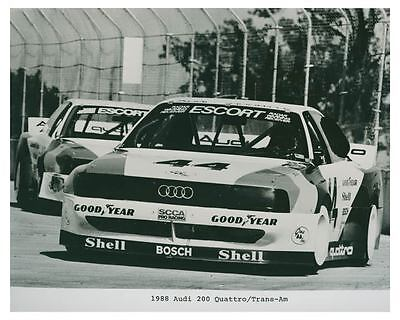 1988 Audi 200 Quattro Trans Am Race Car Automobile Photo Poster zch4763