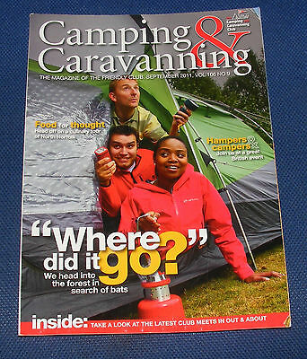 Camping & Caravanning Volume 106 No 9 September 2011 - Where Did It Go?