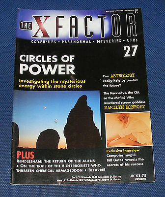 The X Factor No.27 - Circles Of Power