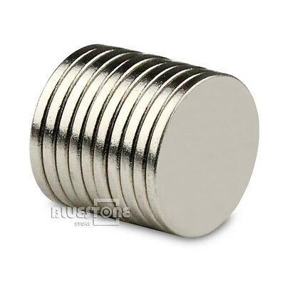 10pcs Super Strong Round Cylinder Magnet 15x 1.5mm Disc Rare Earth Neodymium N50
