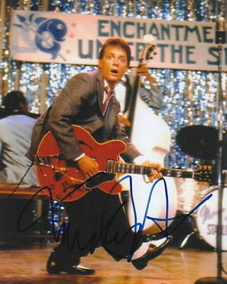 MICHAEL J. FOX.. Back To The Future - SIGNED