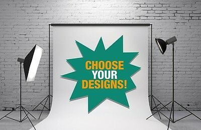 Studiohut 20'x20' CUSTOM Partly Hand Painted Photo Video Backdrop/Background