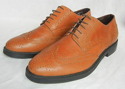 845223bb6b2 UO URBAN OUTFITTERS Hawkings McGill Men's Brogue Leather Wing Tip Shoes sz  11