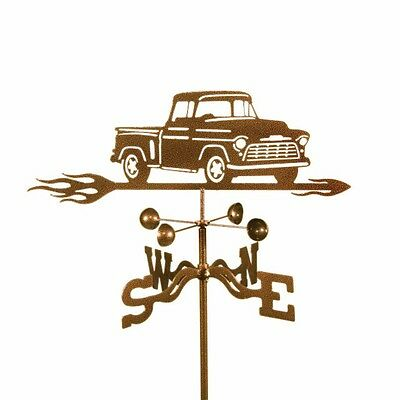 Chevy Truck Weathervane - Chevrolet Pickup Weather Vane - with Choice of Mount
