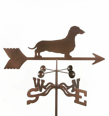 Dog - Dachshund Weathervane, Vane - Weiner - Doxie - Complete w/ Choice of Mount