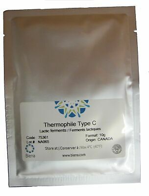 Cheese culture, Thermophilic Type C - for Swiss cheeses.