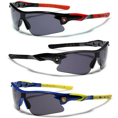Children 8-16 Kids Youth Half Frame Sunglasses For Boys Cycling Baseball Sports