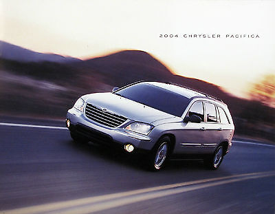 2004 Chrysler Pacifica new vehicle brochure