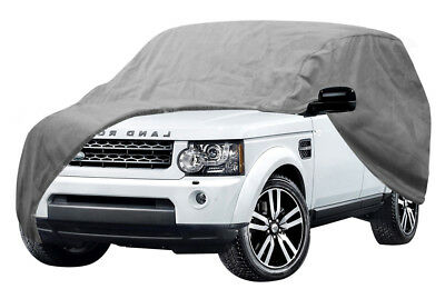Car Cover Fits 2 Door Truck Outdoor Soft Durable Dual Outer Shell UV Protection