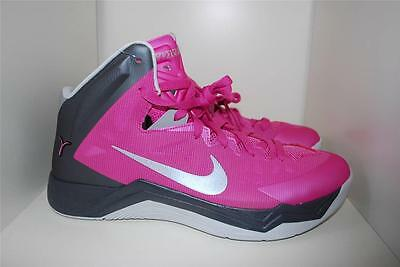 Nike Hyperquickness Think Pink Kay Yow Aunt Pearl Size 11.5 US 44 Eur