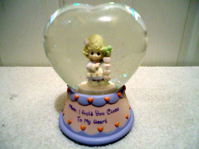 Precious Moments Musical Water Globe