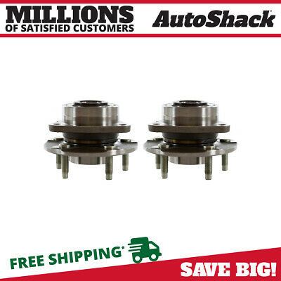 Set of 2 New Wheel Hub and Bearing Assembly Front Pair For 2002-2007 Saturn Vue