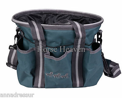 Scan Horse Grooming Kit Bag Show, Plaiting, Tack Storage Bag, 5 colours, 2 sizes