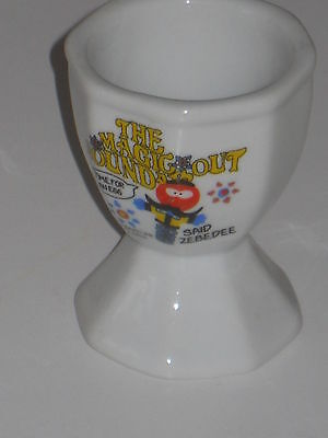 The Magic Roundabout Time for an egg said Zebedee eggcup - ceramic Egg Cup