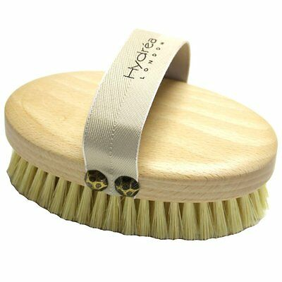 Professional Dry Skin Body Brush with Cactus Bristles Firm/Extra Firm Bristles