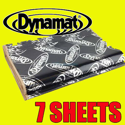 Dynamat Extreme Car Boot Deadening Vibration Sound Proofing Damping Mat 7 Sheets