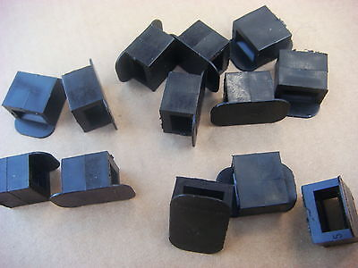 LEGRAND, Lot de 100 Embases pour COLLIER et POTELET de 9 mm (31960)