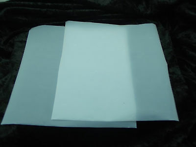2 Pieces 12x12 Inch Paper-thin TEFLON SHEETS for  PMC ART CLAY Polymer