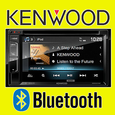 "Kenwood Car/Van CD DVD USB Double Din Stereo Bluetooth iPod iPhone 6.2"" LCD"