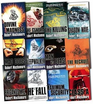 Cherub Young Adults Collection Robert Muchamore 12 Books Paperback  English