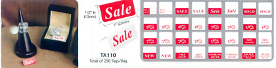 "Removable!!! Jumbo Roll Of 20,000 ((Best Deal)) 1/2"" X 1 1/4"" Price Tags Labels"