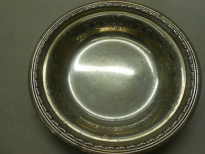 """Elegant Towle Sterling Silver 7"""" Candy Dish Bowl 48380 Pattern"""