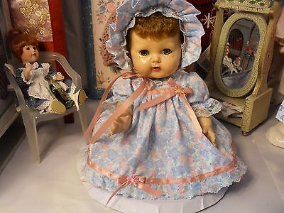 """SSO DOLL CLOTHES DRESS PANTIES BONNET BOOTIES fit 16"""" TINY TEARS or BITTY BABY"""