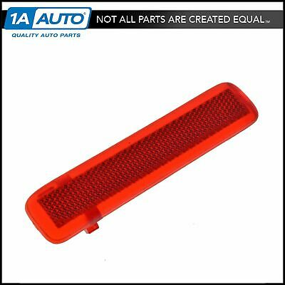 GM Door Panel Red Courtesy Light Lens Interior Rear Driver Side LH for Chevy GMC