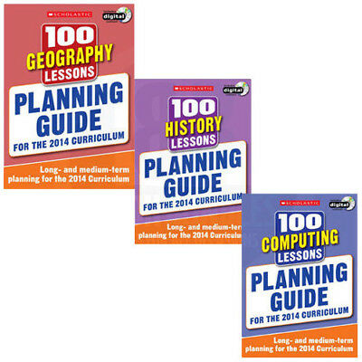 Planning Guide 100 Lessons 2014 Curriculum For Year 1-6 Collection 3 Books Set