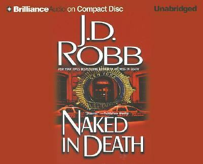 NAKED IN DEATH by J. D. Robb (2004, CD, Unabridged), NEW