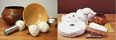 """BEALL Buffing Package:  Beall Buffing System -8"""" Wheels + 3"""" Bowl Buffs"""