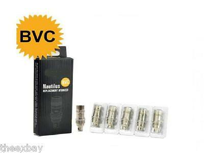5 Pack BVC Coils For Aspire Nautilus Tank Replacement Atomizer 1.8 ohm Dual Coil