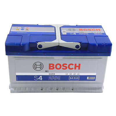 Bosch Car Battery 12V 80Ah Type 110 720CCA 4 Years Wty Sealed OEM Replacement