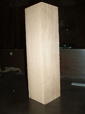"English Beech wood turning spindle blanks.  50mm (2"") square"